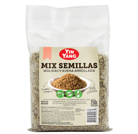 Mix de semillas molidas